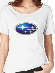 Subaru Logo Women's Relaxed Fit T-Shirt