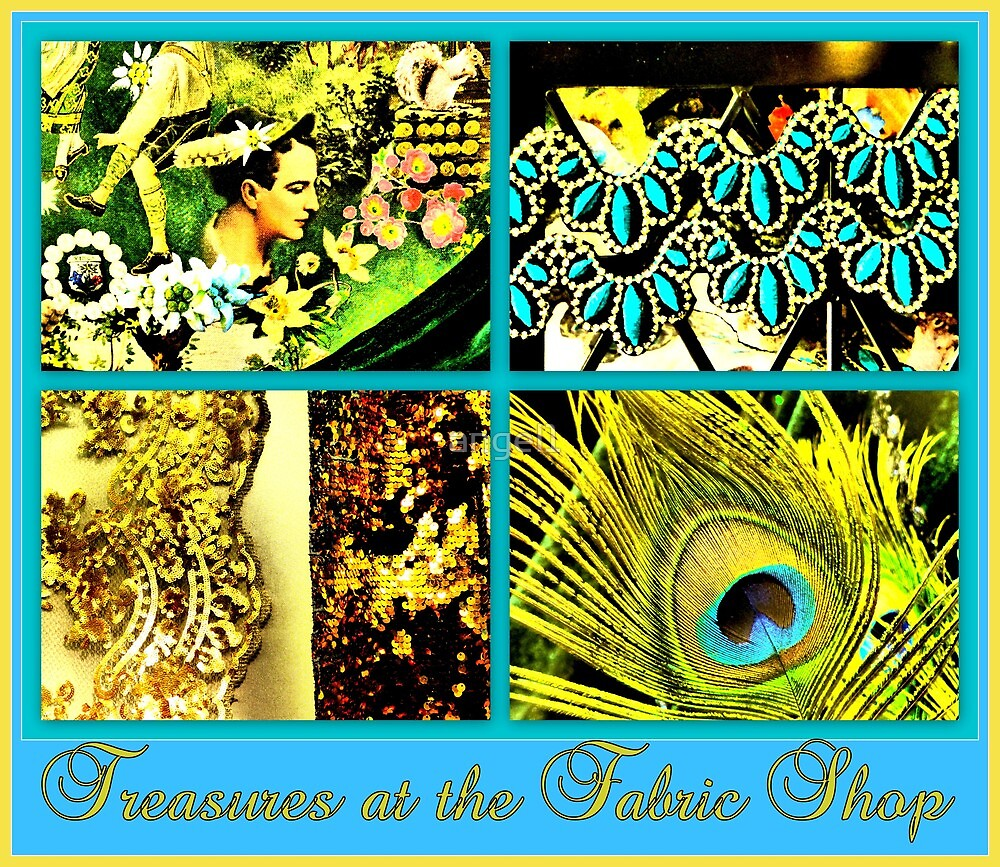 Treasures at the fabric shop by ©The Creative  Minds