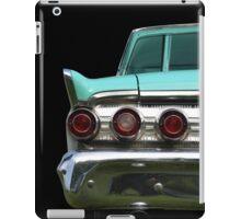 Back (turquoise) iPad Case/Skin