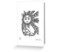 Heavenly Bodies Greeting Card