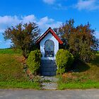 Little shrine along the way by Patrick Jobst
