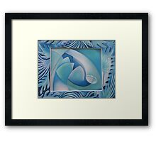 Clear as water 10 Framed Print