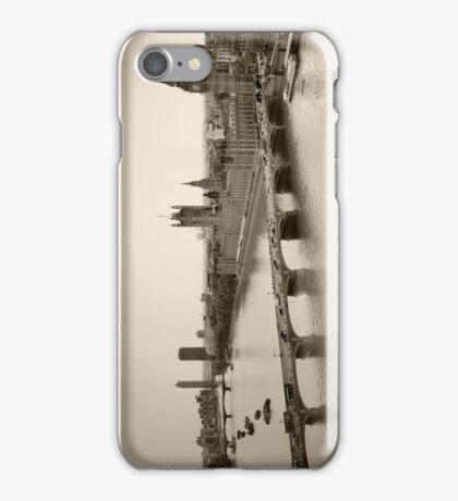 River Thames iPhone Case/Skin