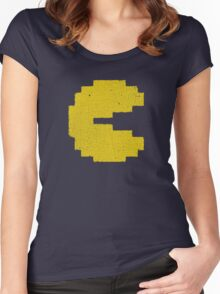 Vintage Look Arcade Classic Eating Legend Women's Fitted Scoop T-Shirt