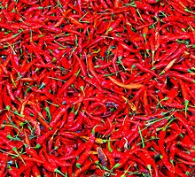 Red Hot Chilli Peppers by Paige