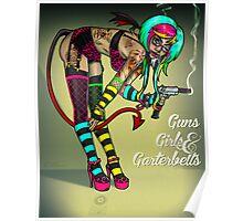 Guns Girls & Garterbelts Poster