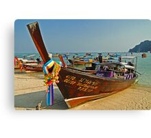 Thai transportation Canvas Print