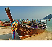 Thai transportation Photographic Print