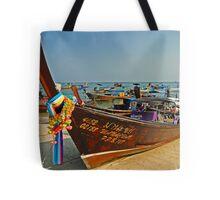 Thai transportation Tote Bag
