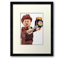 The Doctor Loves Marmite  Framed Print