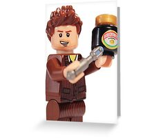 The Doctor Loves Marmite  Greeting Card