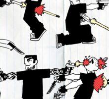 A Lot of Gun Sticker