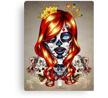 Queen of Suits Canvas Print