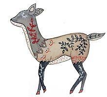 Folktale Deer Photographic Print