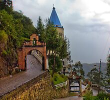 Rainy Day In Biblian Ecuador by Al Bourassa