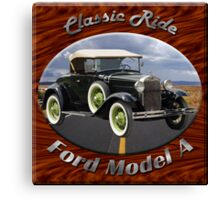Ford Model A Classic Ride Canvas Print