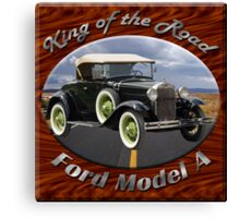 Ford Model A King Of The Road Canvas Print