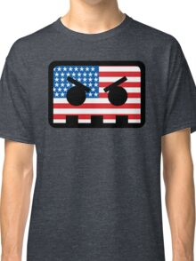 Barely Alive - US Flag Logo Classic T-Shirt