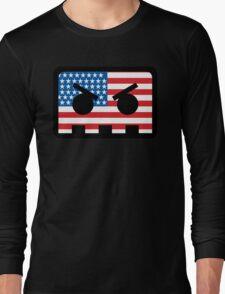 Barely Alive - US Flag Logo Long Sleeve T-Shirt