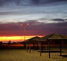 Sunset Hut by CreativeShelf