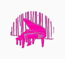 Piano In Front Of Curtain Unisex T-Shirt