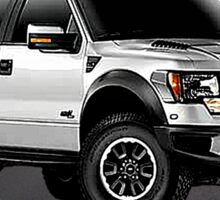Ford F-150 Truck Easy Rider Sticker