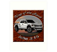 Ford F-150 Truck King Of The Road Art Print