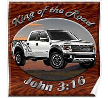 Ford F-150 Truck King Of The Road Poster