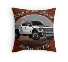 Ford F-150 Truck King Of The Road Throw Pillow