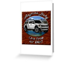 Ford F-150 Truck Anytime Baby Greeting Card
