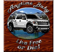 Ford F-150 Truck Anytime Baby Photographic Print