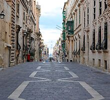 Merchants Street (Valletta) by sgrixti