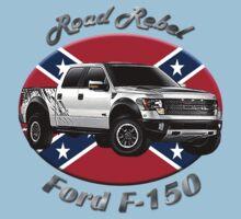 Ford F-150 Truck Road Rebel Kids Tee