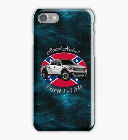Ford F-150 Truck Road Rebel iPhone Case/Skin