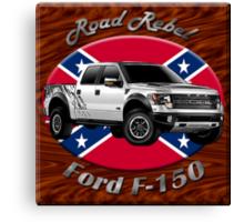 Ford F-150 Truck Road Rebel Canvas Print