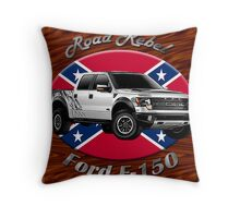 Ford F-150 Truck Road Rebel Throw Pillow
