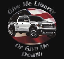 Ford F-150 Truck Give Me Liberty Kids Tee