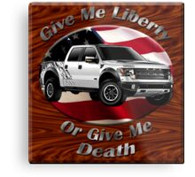 Ford F-150 Truck Give Me Liberty Metal Print