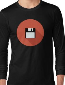 3 and a Half inch disc Long Sleeve T-Shirt
