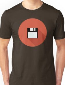3 and a Half inch disc Unisex T-Shirt