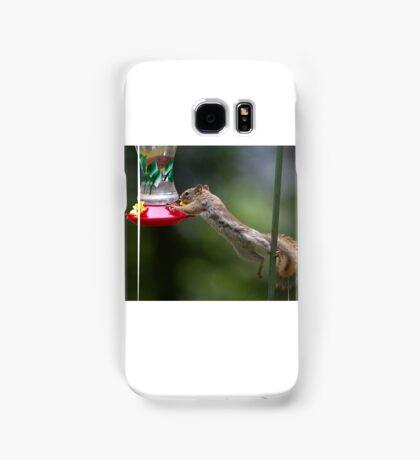Feet don't fail me now! Red Squirrel Samsung Galaxy Case/Skin