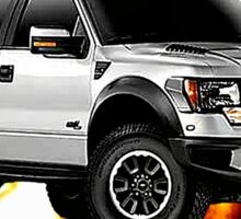 Ford F-150 Truck Road Warrior Sticker