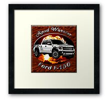 Ford F-150 Truck Road Warrior Framed Print