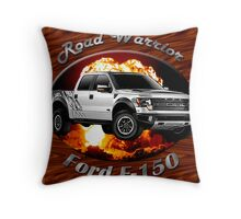 Ford F-150 Truck Road Warrior Throw Pillow