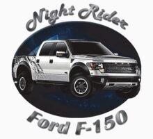 Ford F-150 Truck Night Rider Kids Tee