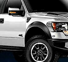 Ford F-150 Truck Night Rider Sticker