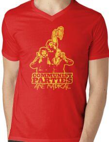 Communist Parties Are Radical Mens V-Neck T-Shirt
