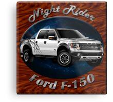 Ford F-150 Truck Night Rider Metal Print