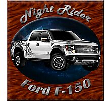 Ford F-150 Truck Night Rider Photographic Print