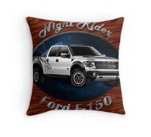 Ford F-150 Truck Night Rider Throw Pillow